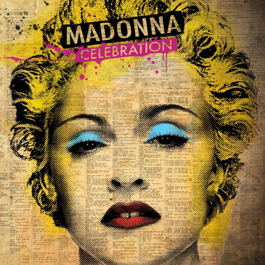 "Madonna's ""Celebration"" Album Cover"